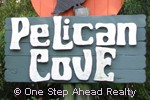 Pelican Cove community sign