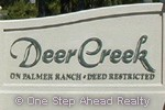 Deer Creek community sign